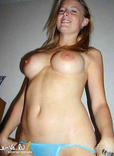 Любительская эротическая съемка молодых девиц - фото #