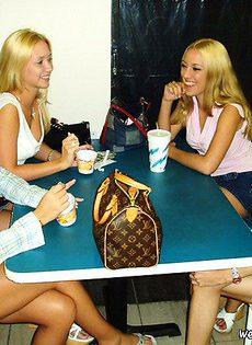 Четыре подружки решили потрахаться - фото #