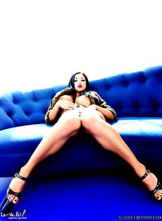Audrey Bitoni трахалась на кастинге - фото #