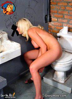 Отсос в туалете - фото #