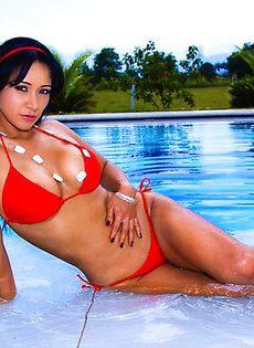 Секс с латинской красоткой - фото #