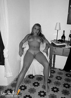 Полуобнаженные домашнии девушки - фото #