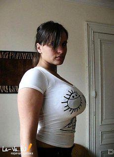 Девушки с большой и красивой грудью - фото #