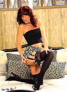 Шикарная сексуальная красотка! - фото #