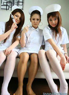 Японские сексуальные медсёстры - фото #