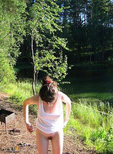 Отдых в лесу - фото #