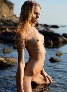 Лиза на море - фото #