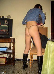 Инна в домашней обстановке - фото #