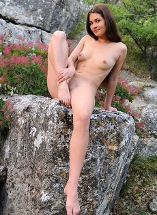 Маша в горах - фото #