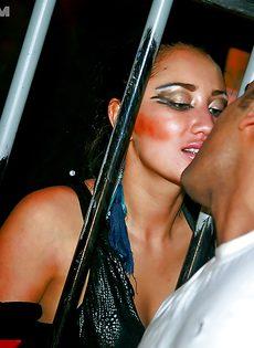 Пати переросло в групповое порно с пьяненькими телками - фото #