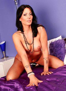 Роскошная женщина с хорошеньким телом Zoey Holloway - фото #