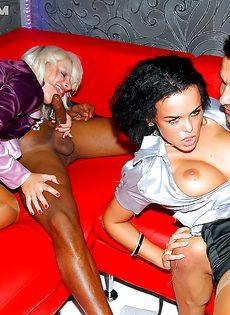 Откровенная секс вечеринка с пьяными девицами - фото #