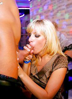 Красивые девушки получили удовольствие на вечеринке - фото #