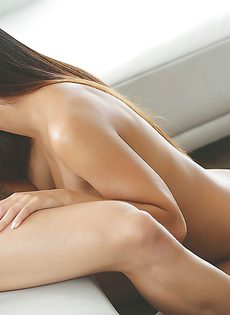 Очень нежный и чувствительный оральный секс с утра - фото #