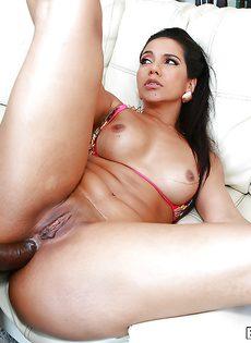 Анальный секс с привлекательной латиной Rose Monroe - фото #8