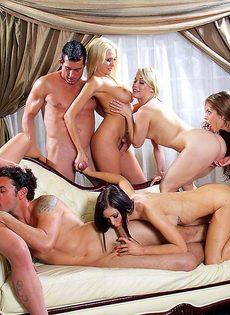 Голливудское секс шоу с начинающими порнозвездами - фото #2