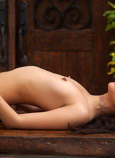 Фото обнаженной латиноамериканской девушки на свежем воздухе - фото #6