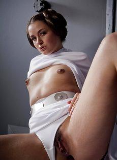 Косплей от развратной девушки с очень маленькими сиськами - фото #11