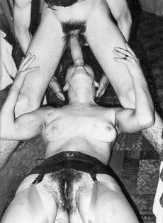 Возбуждающие ретро фото с сексуальными развлечениями - фото #10