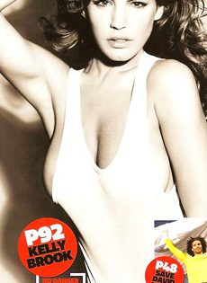 Келли Брук топлесс - фото #