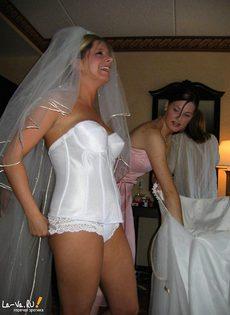 Сексуальные невесты - фото #