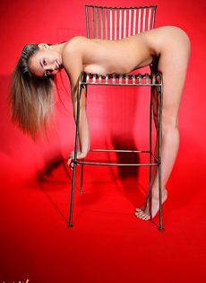 Марина в сиреневом - фото #