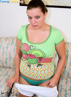 Полная Оксана с розовой попкой - фото #