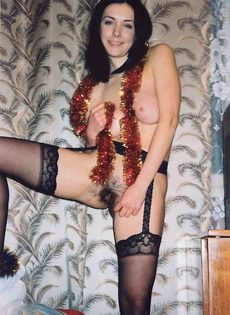 Голая жена, 1990 новый год - фото #