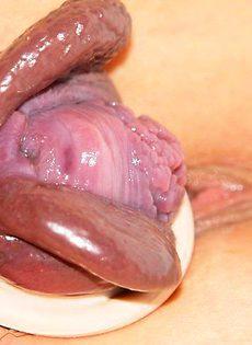 Сочные вагины после вакуумной помпы - фото #