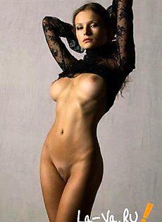 Худая модель - фото #