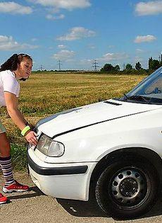 Сломалась машина - фото #