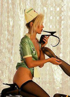 Сексуальные медсестры в больнице - фото #
