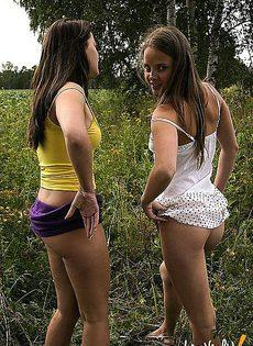 Вышли в поле подружки - фото #