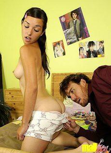 Трахнул девушку у неё дома - фото #
