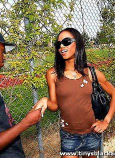 Негр выебал свою чернокожую подружку - фото #