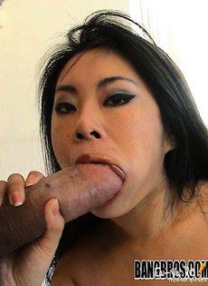 Азиатка была затронута в рас плох - фото #