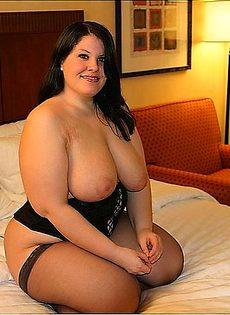 Толстушка нашла для себя ебаря - фото #