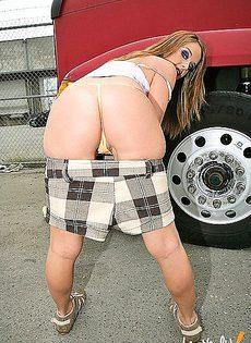 Водитель нашел попутчицу - фото #