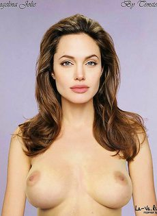 Анжелина Джоли заснята в откровенных фото - фото #