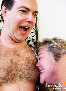 Старая тетка сделала минет своему мужу - фото #