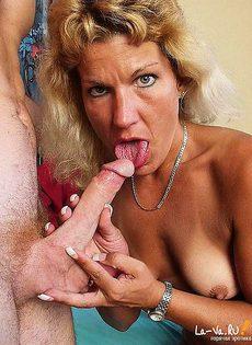Пожилая парочка занялась анальным сексом - фото #