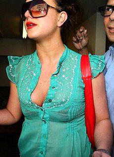 Девушка звезда застуканная папарациями - фото #