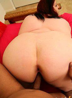 Негры обожают толстых белых сучек - фото #