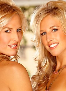 Голые сестры Cassie и Kat Kellerman сексуальные фотомодели PlayBoy - фото #