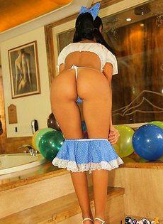 Сексуальный подарок на день рождения - фото #