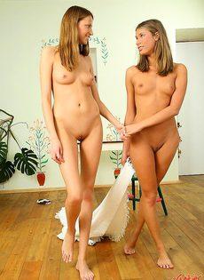 Одна уломала другу на однополый секс - фото #