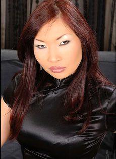 Поимел Азиатку в колготках - фото #