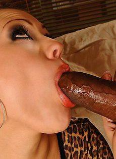 Групповой межрасовый секс - фото #