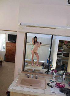 Домашние фото молоденькой шалавы - фото #
