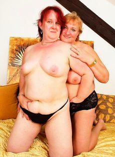 Полные бабы в возрасте - фото #
